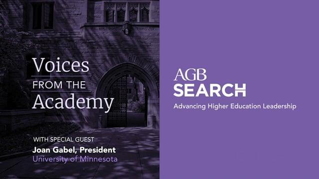 President Joan Gabel, University of Minnesota